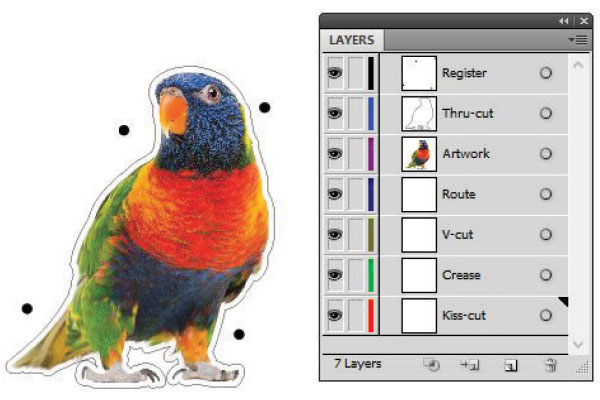 Instructions for preparing a custom cut file | GRANO