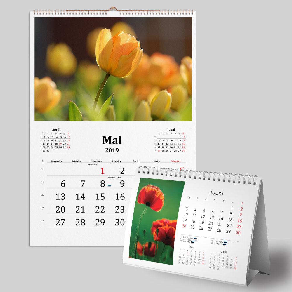 Kalendrite trükk